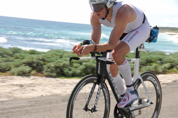 Chris Goodfellow IM Cozumel Bike