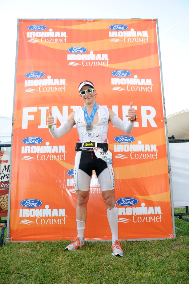 Chris Goodfellow IM Cozumel Finisher