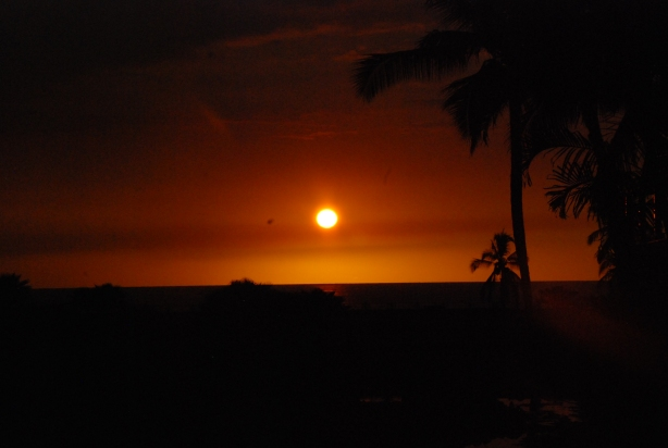 Hawaii Sun Set